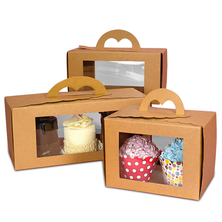 custom cupcake carrier box small bakery boxes