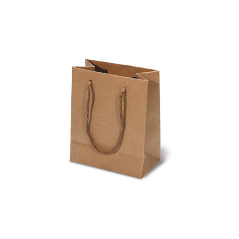 Custom Small Thick Brown Paper Bags from China