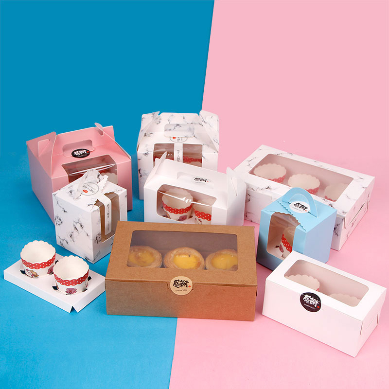 Custom cookie boxes in bulk from China baking packaging supplier