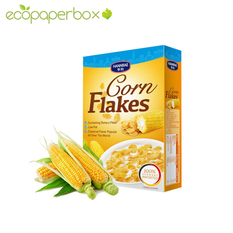 Customized Cereal Yellow Box Customizer with good price from China