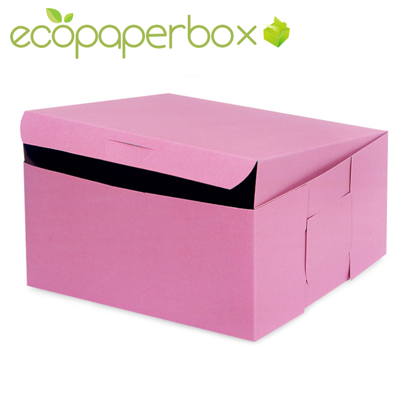 Custom pink doughnut boxes for donuts wholesale from China